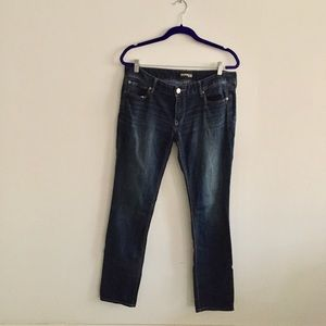Express Low Rise Skinny Jeans Size 12R